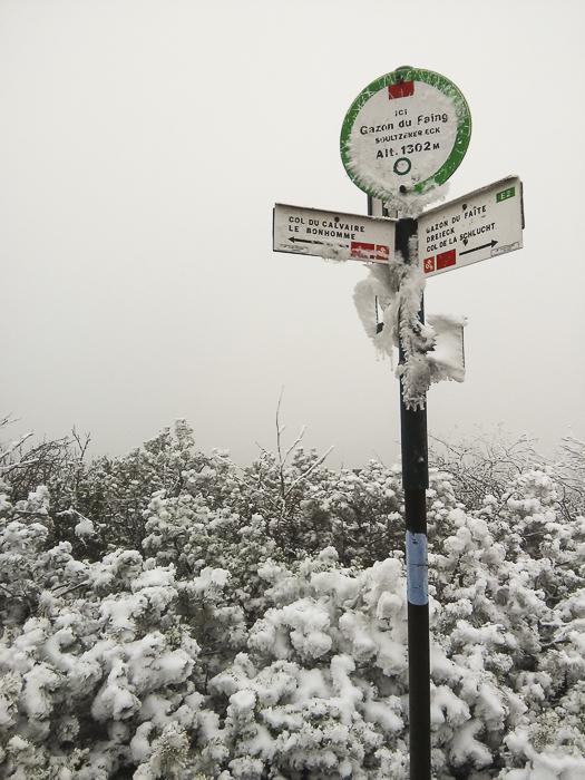 La neige au Tanet Gazon du Faing