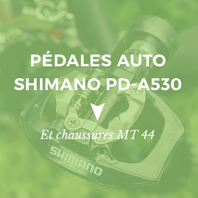 Pédale automatique Shimano PD-A530
