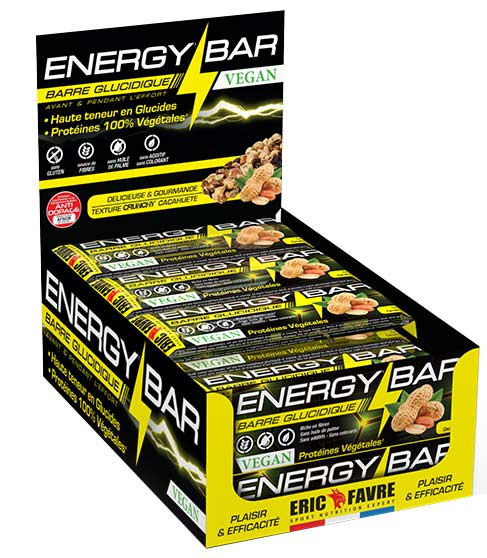 Energy Bar Vegan Eric Favre