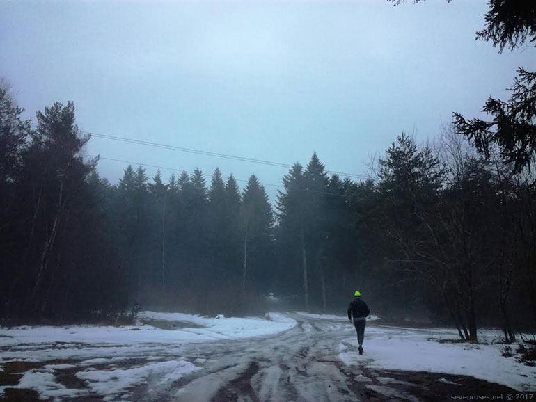Courir régulièrement