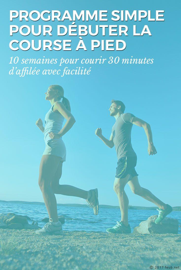 Programme simple pour débuter la course à pied
