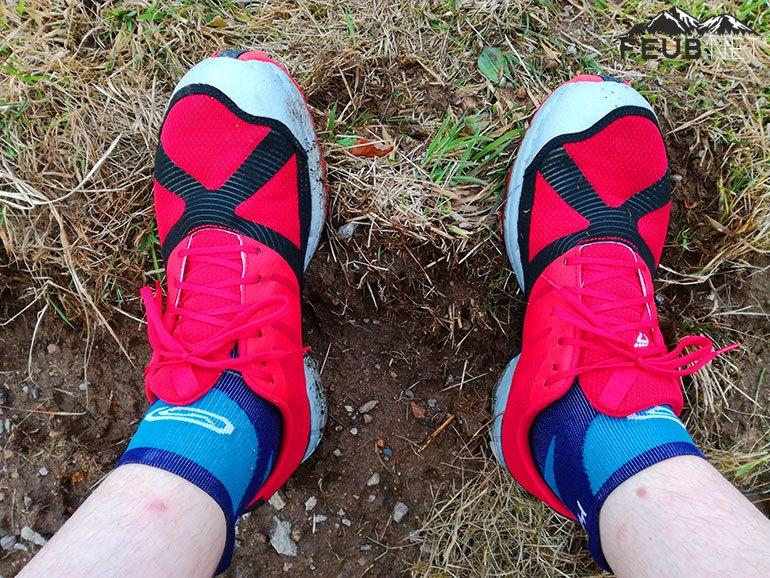 Les TerraClaw, légères et souples avec de la place sur l'avant du pied