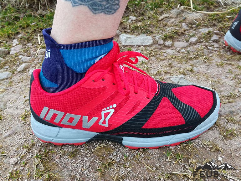 Inov-8 TerraClaw 250, chaussure de trail polyvalente
