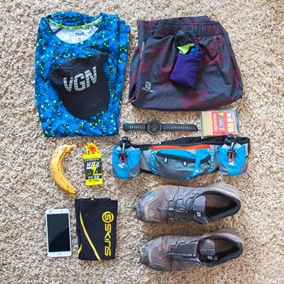 Mon équipement pour un trail court