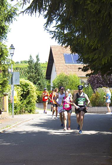 Passage entre le 13ème et 14ème kilomètre