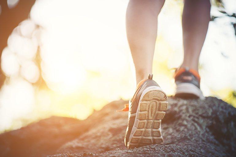 Courir lorsqu'il fait chaud