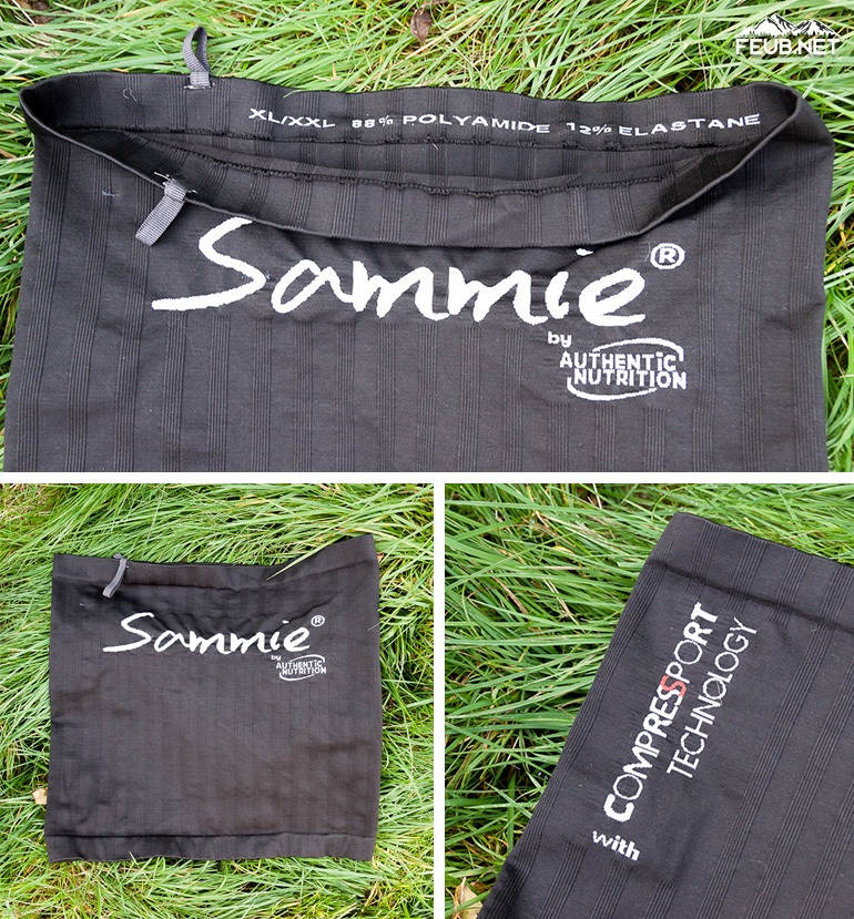La Sammie v2 est née de la collaboration d'Authentic Nutrition avec Compressport