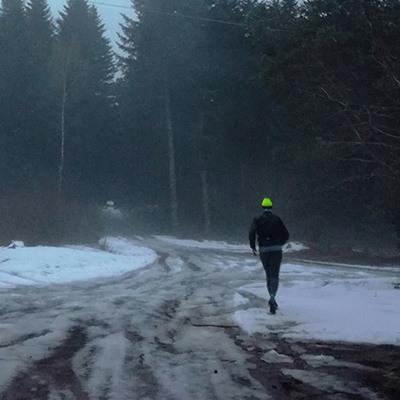 Trail dans le massif des Vosges
