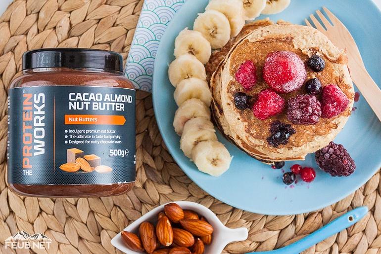 Pancakes énergétiques avec The Protein Works