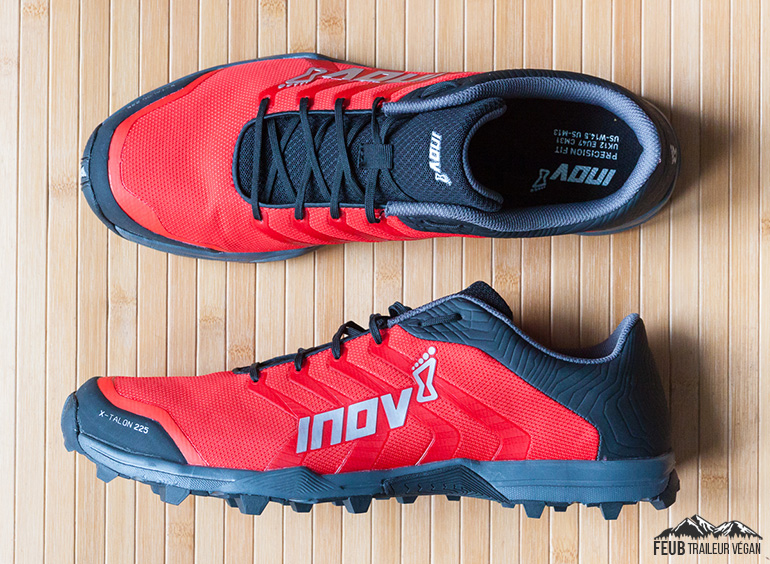 Chaussures de trail Inov-8 X-Talon 225 unboxing