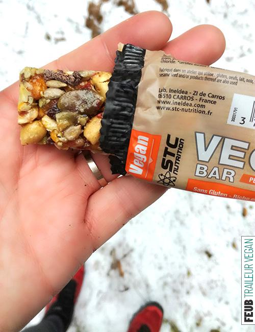 Barre STC VEGAN, le bon goût de la cacahuète