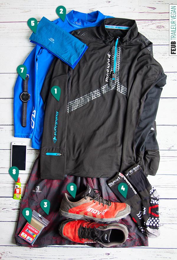 Mon race pack pour trail court hivernal - feub.net