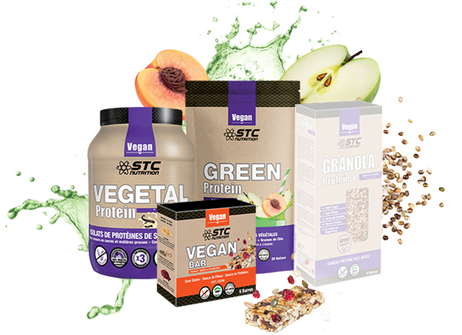 STC Nutrition gamme VEGAN