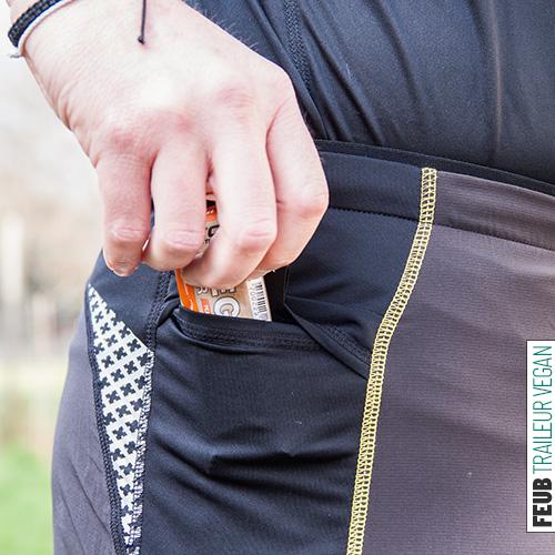 Des poches latérales très utiles