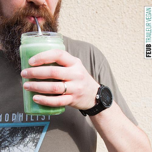 Le Green Monster frais et fruité