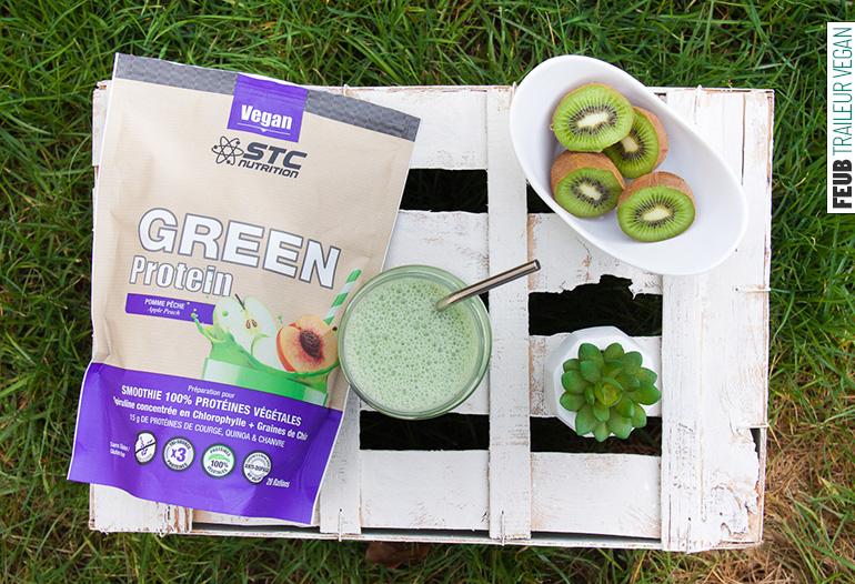 Protéines végétales Green Protein de STC Nutrition