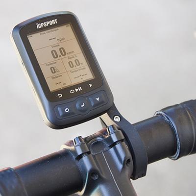 Test du compteur vélo GPS iGPSport iGS618 sur feub.net