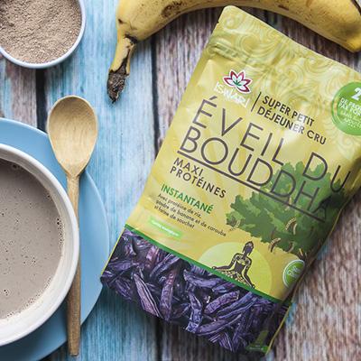 Le plein d'énergie au petit-déjeuner avec l'Éveil du Bouddha