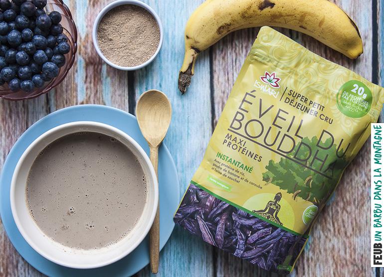 L'Éveil du Bouddha Maxi Protéines, de l'énergie bio, crue et végane au petit déjeuner