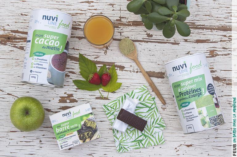 Nuviline, une gamme de produits de nutrition avec du bon sens et gourmands