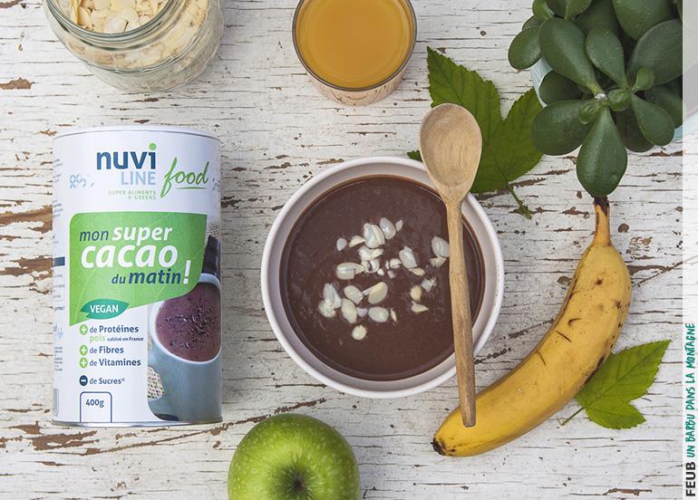 Une super boisson 100% végétale au cacao intense et onctueux