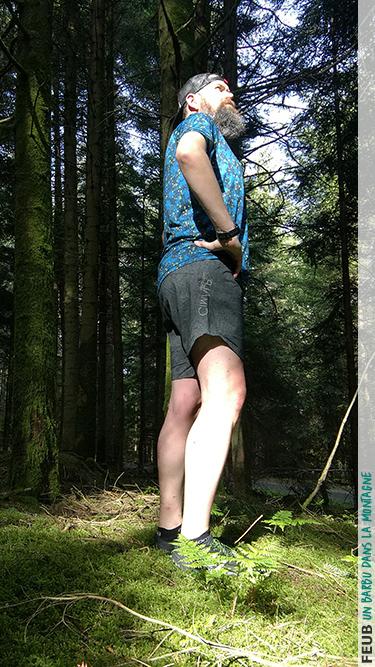 Short de trail CimAlp Joran Aerotrail, léger et respirant