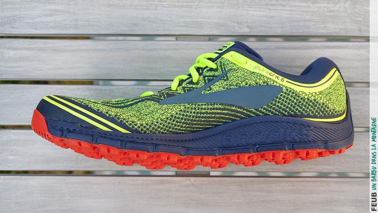 Test des chaussures de trail Brooks PureGrit 6