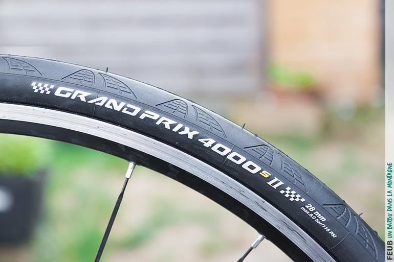 Test des pneus route Continental Grand Prix 4000S II