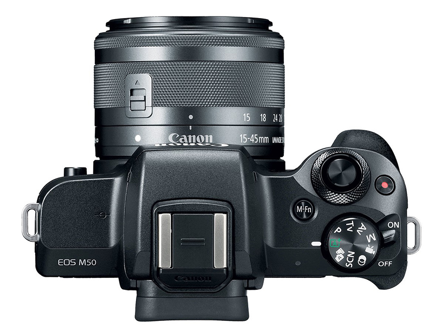 Kit Canon EOS M50 avec objectif EF-M 15-45 mm