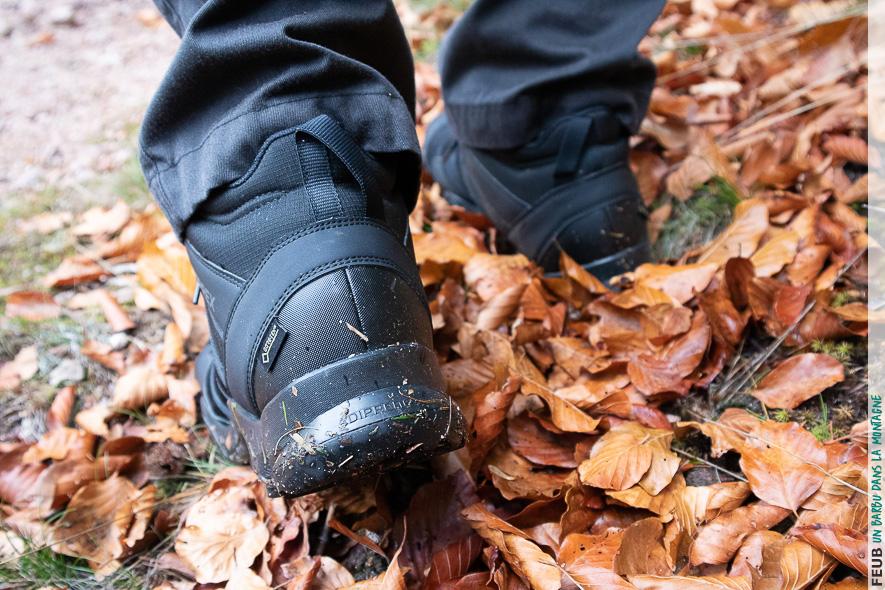 Du bon grip les pieds au sec