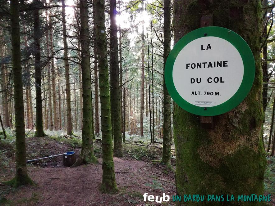 Fontaine du Col - feub.net