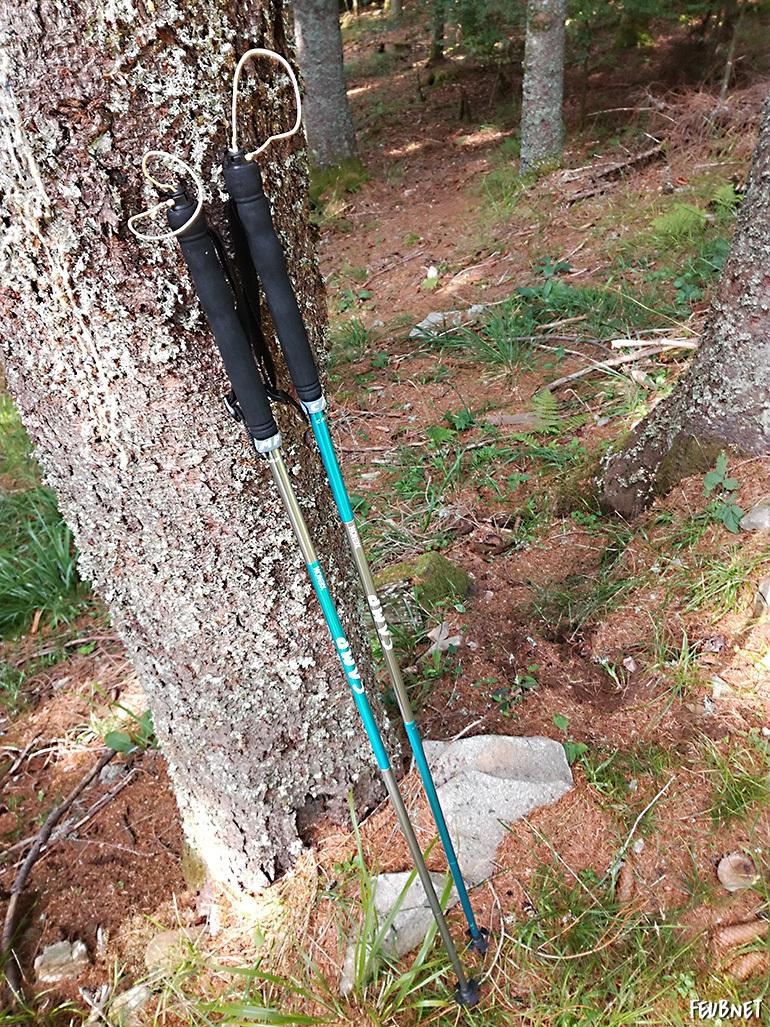 Bâtons de trail Camp Xenon 135 cm 4 brins aluminium - feub.net