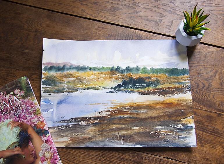 Loch Doon, œuvre originale par Steven Cronin