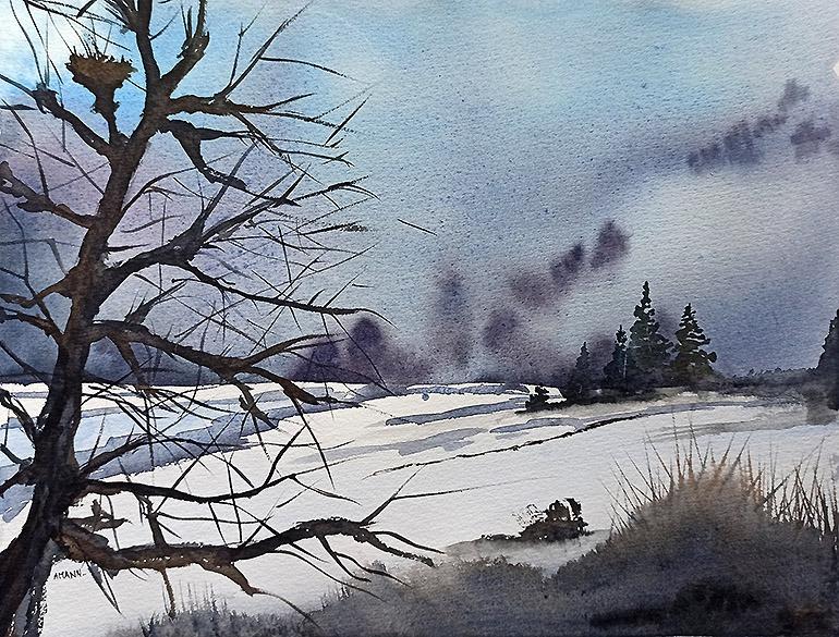 Un hiver Vosgien