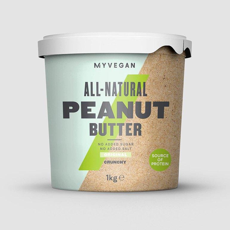 Beurre de cacahuète 100 % bio, riche en nutriments