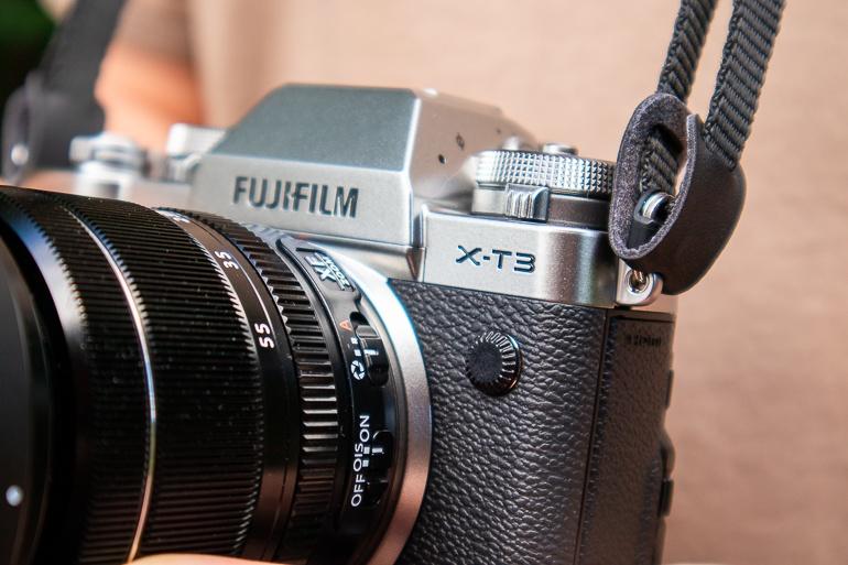 Le Fujifilm X-T3 aux allures rétro mais très pro