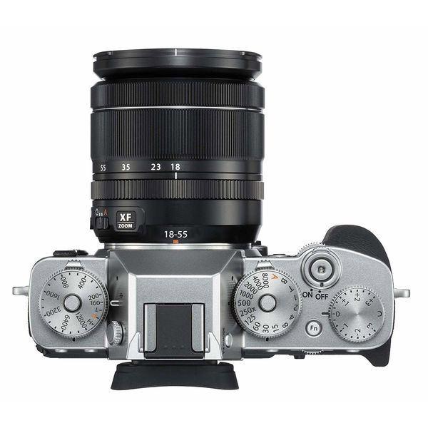 Fujifilm X-T3 dessus