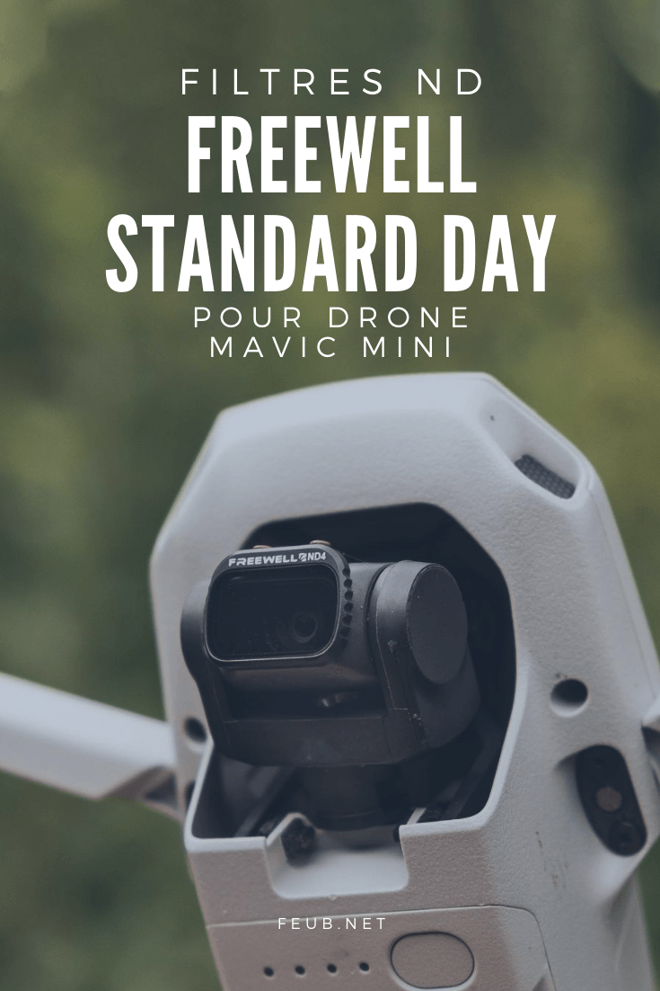 Filtres ND Freewell Standard Day pour Mavic Mini
